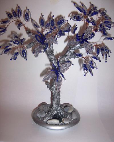 svetulka.79 за замечательный мастер-класс зимнего дерева из бисера.  Благодарим.