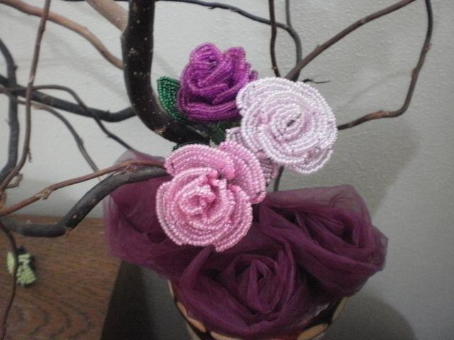 Бисероплетение мк цветы - Делаем фенечки своими руками.
