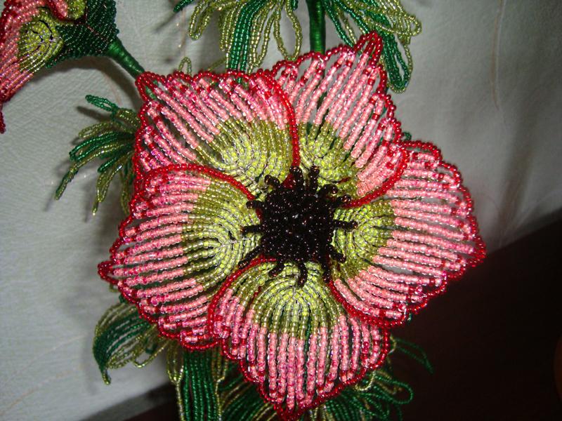 Параллельное плетение бисер