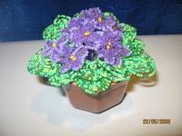 бисероплетение цветы крокусы