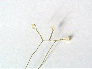 Гиацинт из бисера