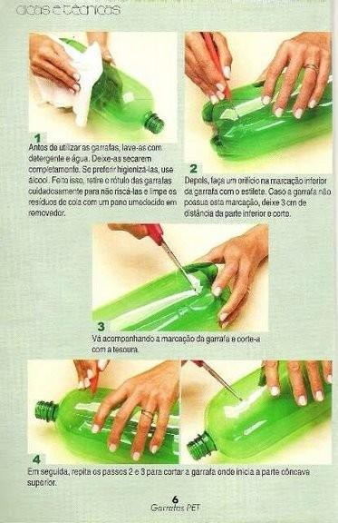 плетение из бутылок