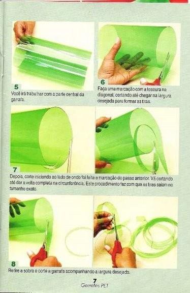 Корзинка из пластиковой бутылки для цветов своими руками