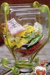 делаем вазу из пластиковой бутылки