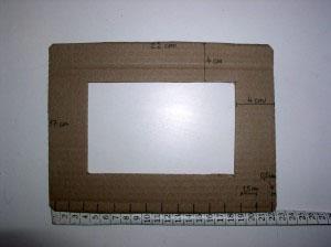 рамка из газет