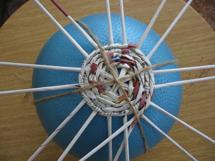 Плетеный шар как сделать - Automee-s.ru
