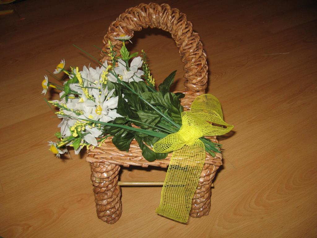 плетение стула