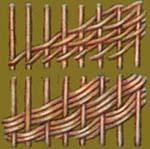 Виды плетения из газета