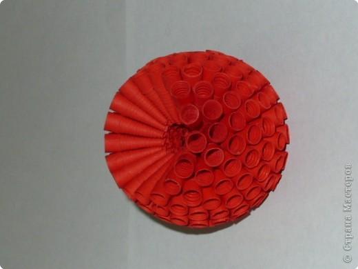 Цветок из бумаги объемное
