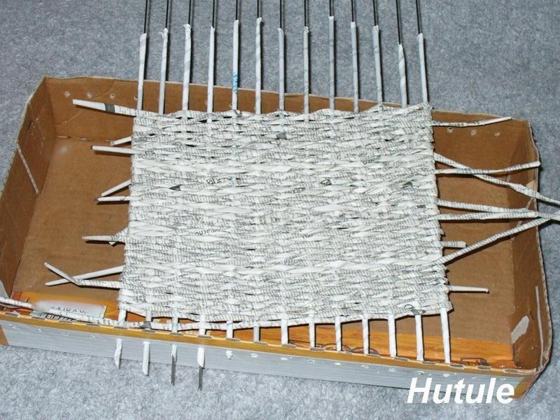 журнал плетение из газетных трубочек