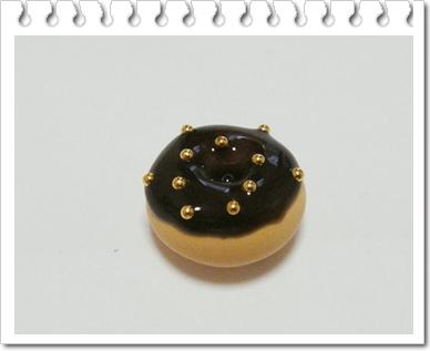 мастер класс пончик из полимерной глины