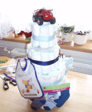 мастер класс торт из памперсов для мальчика