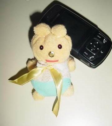 фигура из полотенец Куколка