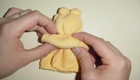 Как из полотенца сделать розу