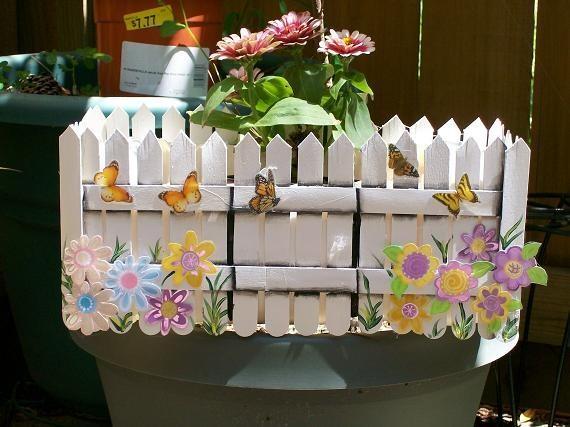 Поделки для сада из пластиковых