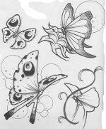 бабочки из пластиковых бутылок шаблон