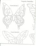 бабочки из пластиковых бутылок шаблоны