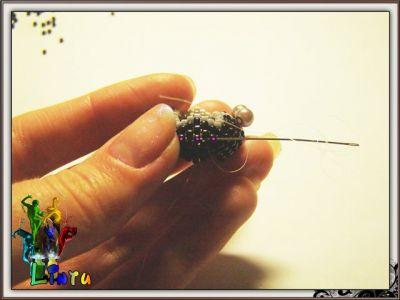 скорпион из бисера
