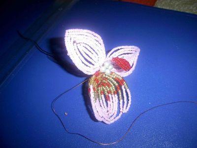 Орхидея из бисера: мастер класс