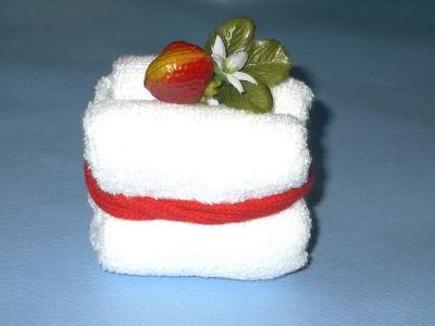 Бисквитный торт из полотенец