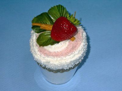 кекс - торт из полотенец