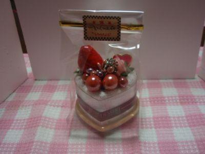 мини торт из полотенец Сердце
