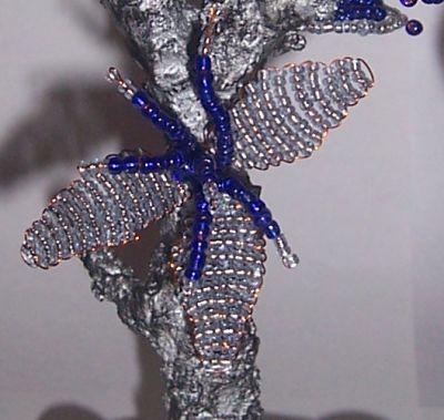 Мастер-класс: Зимнее дерево из бисера