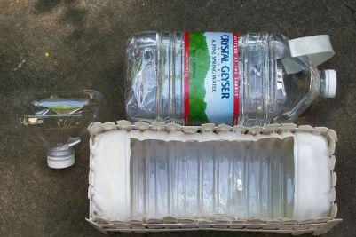 Поделки для сада из бутылок